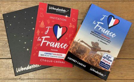 "Coffret Wonderbox ""J'aime la France"""